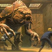 Sideshow Collectibles Star Wars 兰克兽Rancor  雕像 前瞻
