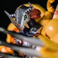 万代数码宝贝超进化魂 战斗暴龙 钢铁加鲁鲁 迪亚波罗兽 全系列评测 【木子模玩室】