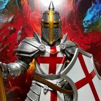 【老鐵玩具分享】四骑士神话军团1.75波 圣殿骑士团 十字军团士兵
