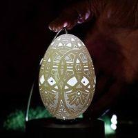 巧夺天工的蛋壳雕刻艺术