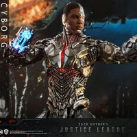 Hot Toys DC 扎导版正义联盟 钢骨Cyborg 1/6人偶 前瞻