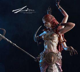 LIN STUDIOS 原创神话系列《雷渊圣母——娜迦》