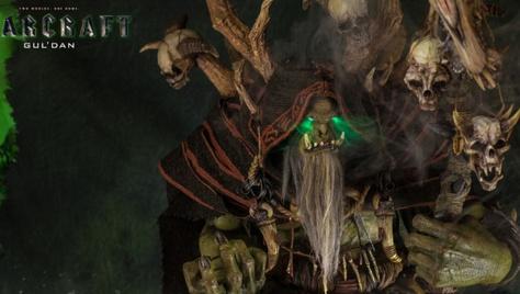 史诗系列《魔兽》古尔丹精致雕像