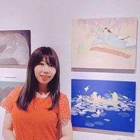 如果可爱有颜色,那一定是糖果色 日本画师磯崎菜那的日本画