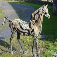 伊甸园里的马—Heather Jansch作品欣赏