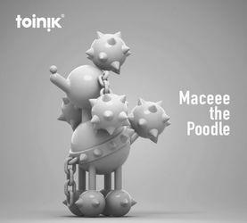 變異!流星錘X貴賓狗 Maceee-the-Poodle by TOINIK