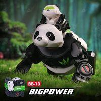 52TOYS BEASTBOX猛兽匣系列大力丸 熊猫