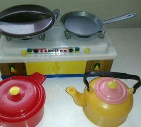 上世纪八九十年代过家家游戏的玩具