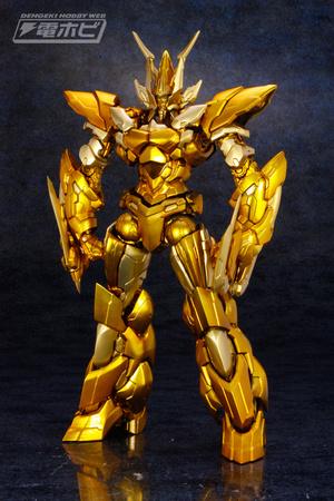 ART STORM公司旗下的EX合金系列新品---《超者雷登》Gold ver,预计2017年3...