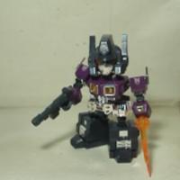 TF—圣贤的变形金刚玩具 292,TOPEAM STD--01紫色擎天柱(下)