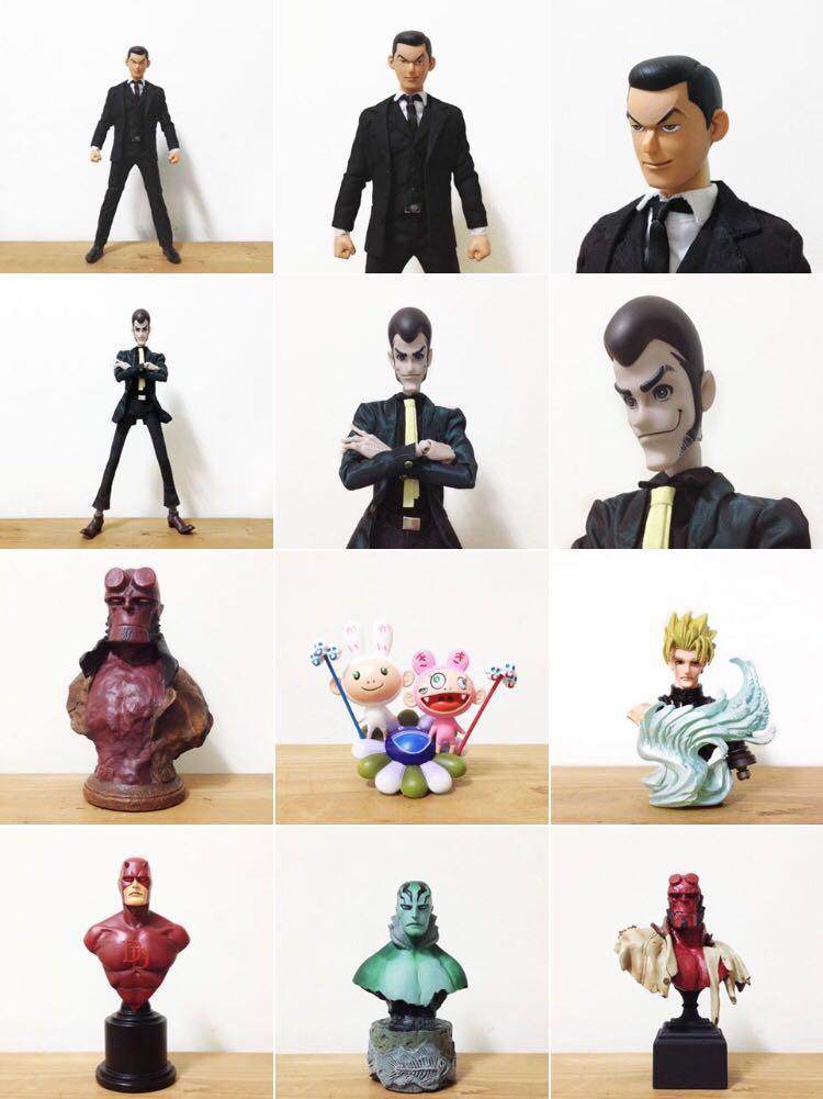 jingdwang收藏的玩具类型非常庞杂