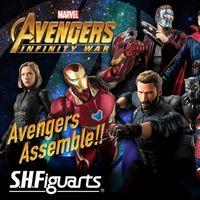 S.H.Figuarts《复仇者联盟3:无限战争》系列玩偶