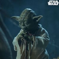 Sideshow 星球大战V 帝国反击战 尤达大师Yoda 1/6 人偶 前瞻