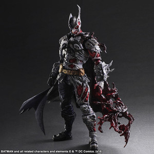 PA改的双面蝙蝠侠,DC Comics Play Arts Variant Batman-Two Face Batman ,售价202美元。
