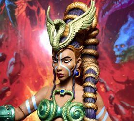 【老鐵玩具分享】四骑士神话军团2.0腐潮 大祭司 赫拉·螺旋蛇