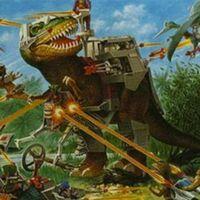 30年前就有这么好玩的科幻恐龙玩具-TYCO 超霸恐龙 玩具(四)
