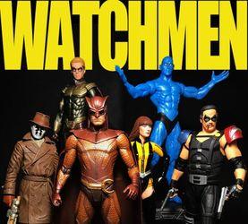 【老鐵玩具分享】DC Direct 守望者 六人组集结