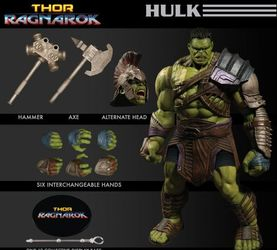 Mezco  One:12 Collective 绿巨人浩克Hulk 可动人偶前瞻