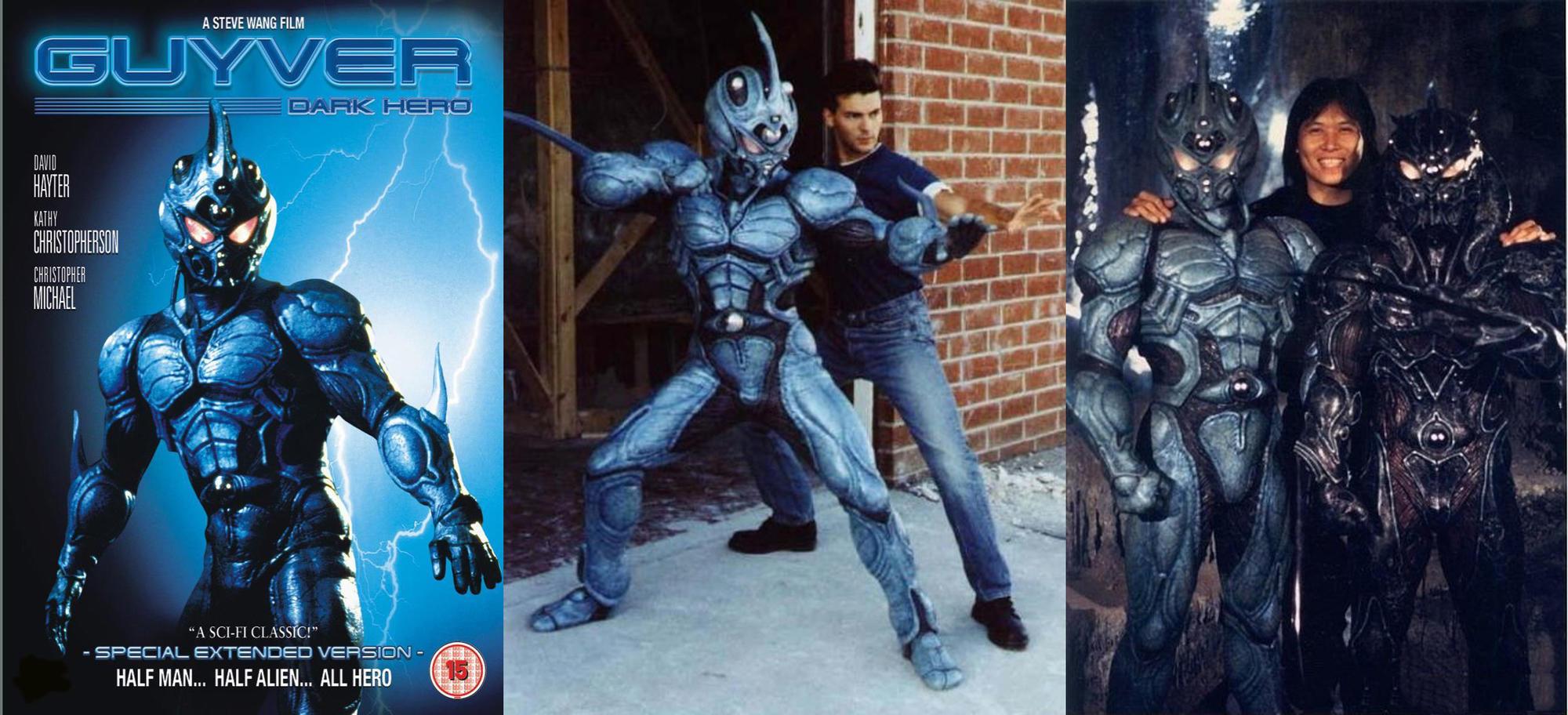 《强殖装甲凯普 真人电影》,也是Steve Wang导演的作品,片中的凯普戏服也是出自他之手。