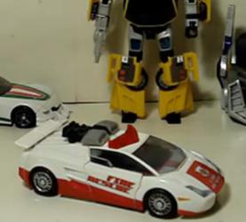 TF—圣贤的变形金刚玩具 98,经典3.0系列美版加强级红色警报