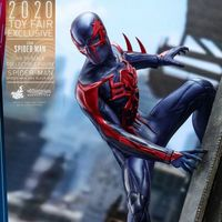 HOTTOYS 2020香港动漫电玩节限定 蜘蛛侠2099 12寸人偶前瞻