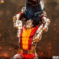 Iron Studios Marvel X战警 钢力士Colossus 1/10雕像 前瞻