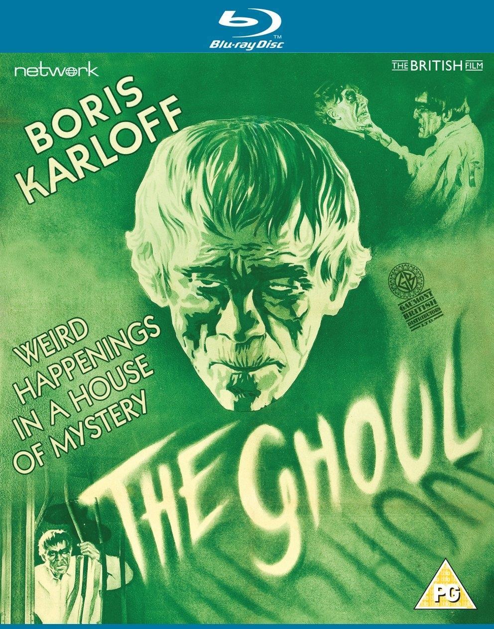 《THE GHOUL》同名电影,由恐怖巨星Boris Karloff主演。