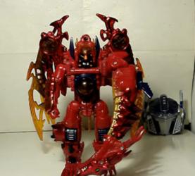 TF—圣贤的变形金刚玩具 33,BW系列红龙威震天
