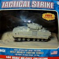 CORGI 狗仔 M2A2 布雷德利 步兵战车 1:64 模型评测 玩具 合金车 坦克 m2 装甲车