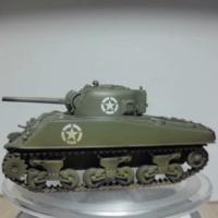 Easy Model 谢尔曼 M4A3 坦克 1:72 模型评测 号手 二战