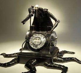 机械雕塑家Greg Brotherton