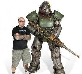Chronicle Collectibles 辐射 T51B动力甲&公议的权威 1/1雕像前瞻