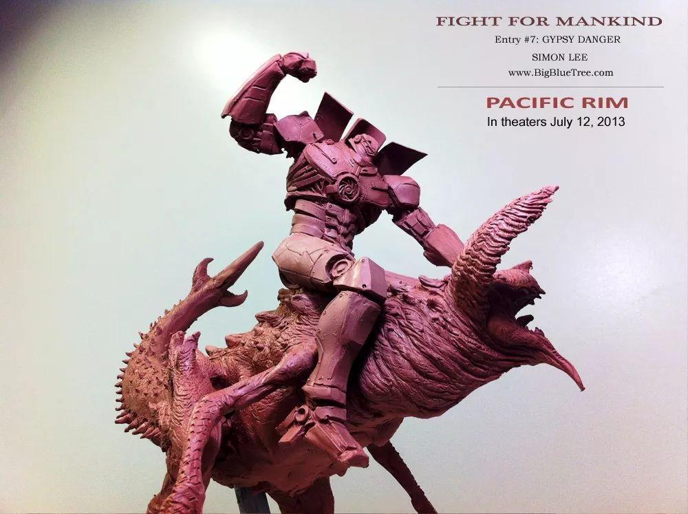 环太平洋的雕塑作品