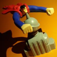 1997 汉堡王玩具 超人动画系列