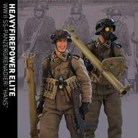 MWTOY 重火力尖兵系列-二战德军装甲掷弹兵 1/12兵人 前瞻
