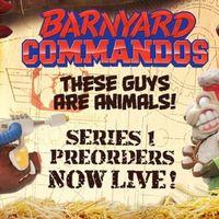 Megalopolis Toys 疯狂农场Barnyard Commandos 第一波前瞻