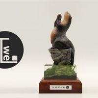 TT動物系列-祈福的水獺(景版)限量現貨發售
