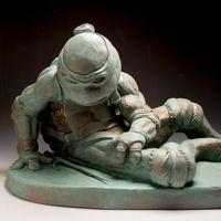 Brett Kern的流行文化灵感雕塑