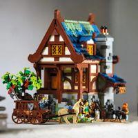 LEGO IDEAS 21325 中世纪铁匠铺 SET 前瞻
