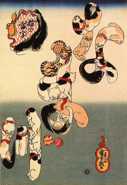 歌川国芳 浮世绘作品