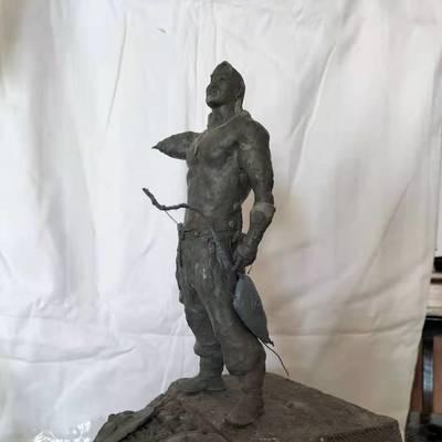 蒙元素小型雕塑...