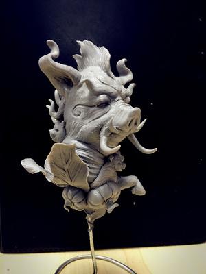 上古神兽--当康(象征富足丰饶,农业丰收,肥猪拱门之说)