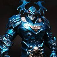 麦克法兰 DC多元宇宙 至黑之夜金属 无情战魔组合人套