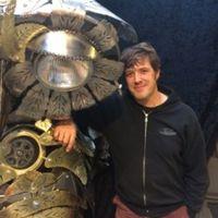 动态蒸汽朋克灵感雕塑——克里斯·科尔(Chris Cole)