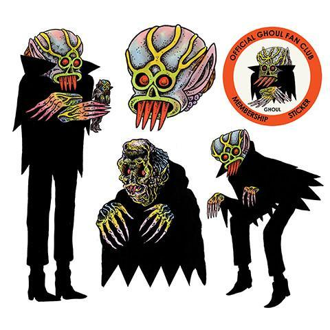 """Craig 绘制的 """"THE GHOUL"""""""