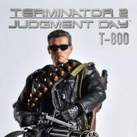 Great Twins 终结者2  Terminator 2 T800 1/12 可动人偶 前瞻