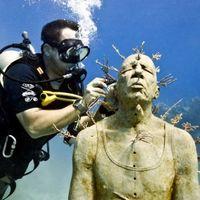 Jason deCaires Taylor的水下雕塑