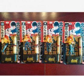 北斗神拳 1980年代老物件 百技拳系列 卷軸與手辦的結合