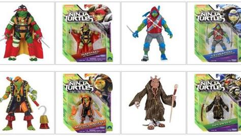 一大波忍者神龟玩具破影而出