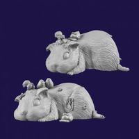 #动物狂欢节#AC0001《趴窝的豚》终审评语及打分